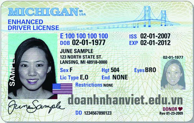 Đổi bằng lái xe từ Mỹ sang Việt Nam
