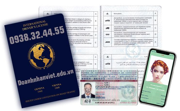 Đổi bằng lái xe B2 sang quốc tế