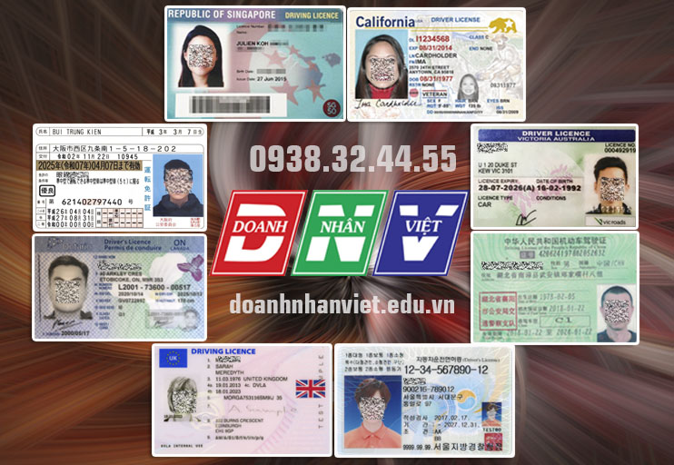 Đổi bằng lái xe nước ngoài sang Việt nam qua mạng