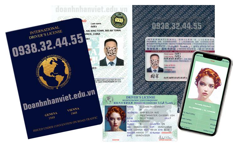 Đổi bằng lái xe quốc tế IAA - IDP Tổng Cục Đường Bộ