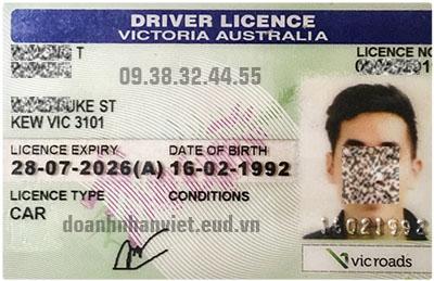 Đổi bằng lái xe Úc sang bằng lái xe Việt Nam