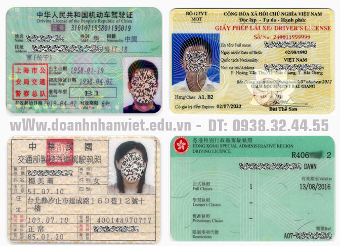 Thủ tục đổi bằng lái xe Trung Quốc sang Việt Nam cho người nước ngoài