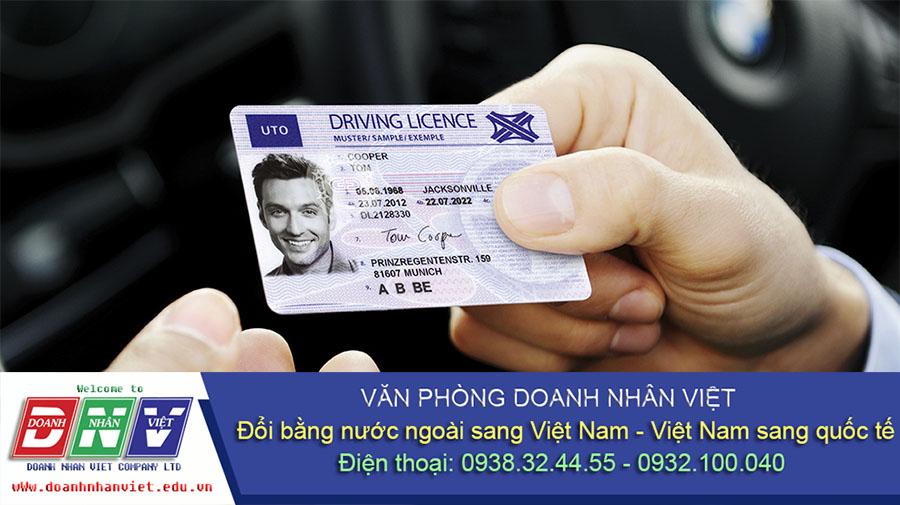 Đổi giấy phép lái xe cho người nước ngoài ở Bình Dương