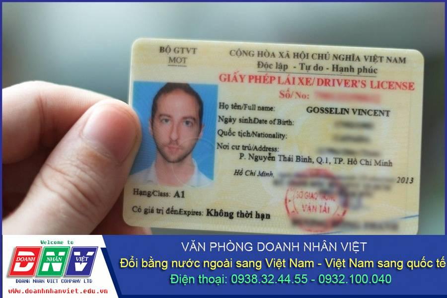 Gia hạn bằng lái xe cho người nước ngoài