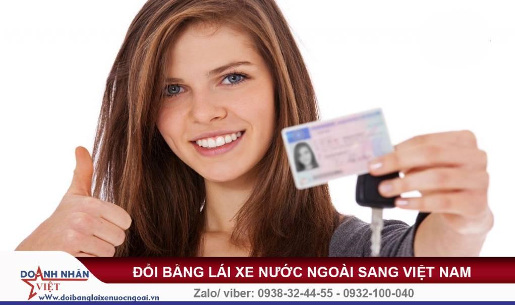 Đổi bằng lái xe Phần Lan sang Việt Nam