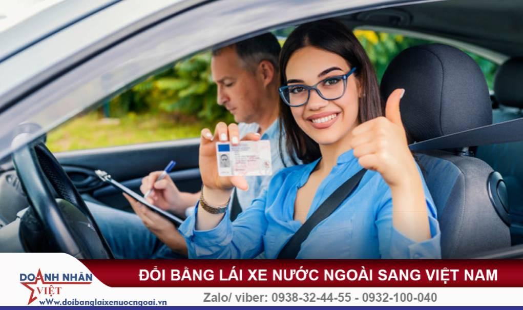 Đổi bằng lái xe Séc sang Việt Nam
